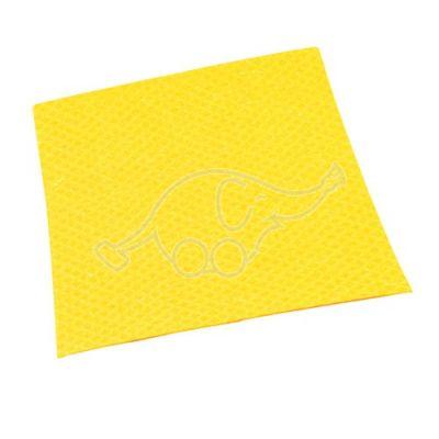 Sponge clothl 25x31cm yellow