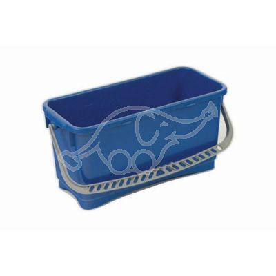 Window bucket 22 liters blue