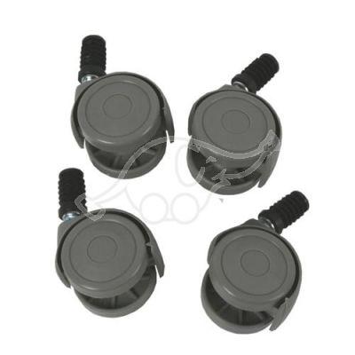 Set of 4 castors for bucket