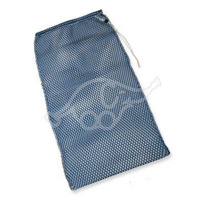 Laundry net 50x70cm blue w/drawstring