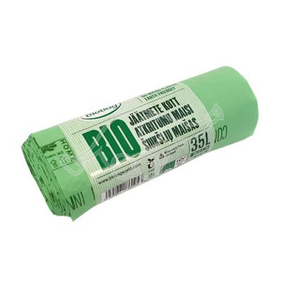 Garbage bag BioBag compostable 35L 20pcs/roll 54x53cm