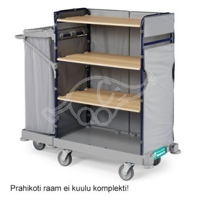 Trolley Green Hotel 920 w.outdoor wheels, without bag holder