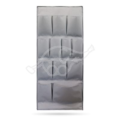 Side plastic panel with pockets grey