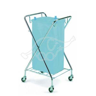 Square chromed X cart Dust