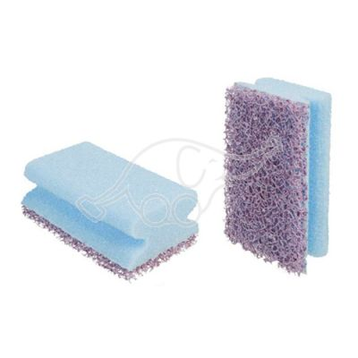 NS2020 cleaning pad/sponge voilet/blue