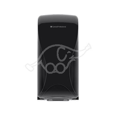 Essentia Folded Toilet Tissue Dispenser, Black