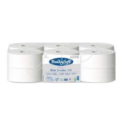BulkySoft Premium Mini Jumbo 2 slāņu tualetes papīrs 145m
