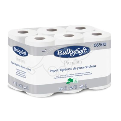 BULKYSOFT PREMIUM 12 toilet rolls 2-ply
