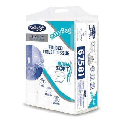 Bylkysoft Excellence folded toilet paper, 2-ply, 224 pcs/bul