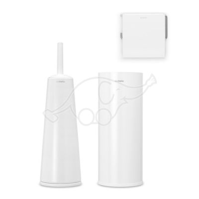 Toilet set white Brabantia