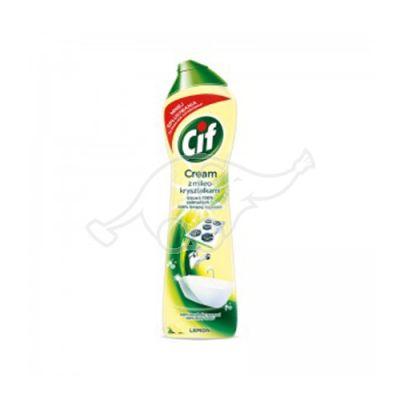 Dezinficējošs krēms CIF ar citronu smaržu 540ml