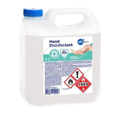 Alfakem disinf.substance for hand  4L
