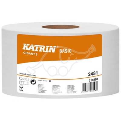 Katrin Basic Gigant S 1-ply toilet pape 150m