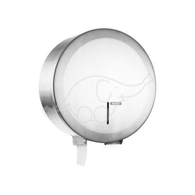 KATRIN Gigantbox S nerūsējošā tērauda tualetes ruļļu turētājs, slēdzams