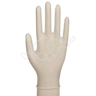 Exam.glove stretch vinyl pf white L