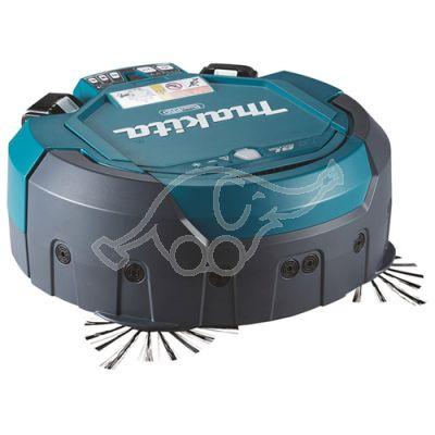 MAKITA Akumulatora Robotu putekļu sūcējs 2x18 V Li-ion, Bez akumulatora un bez lādētāja!