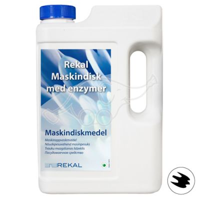 Rekal Maskindisk ensüümidega 1,9kg pulber masinnõudepesuaine