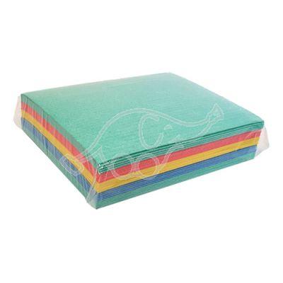 Cleaning cloth Medix 20x17cm mixed colors 25pcs/pack