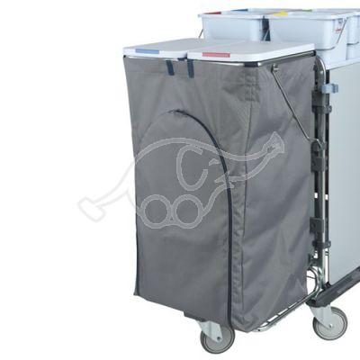 VILEDA BinBag atkritumu maisa apvalks ar atveramu sānu un vecro stiprinājumu, 120L