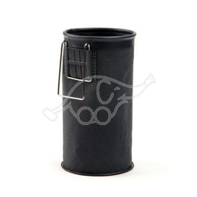VILEDA apaļš pudeles turētājs Ø 85x15cm, EVA Multi steel Premium ratiņiem, PVA, melns.