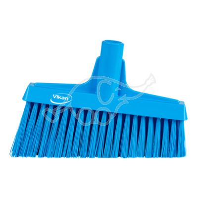 Lobby Broom, Angle Cut, 260mm Medium, Blue