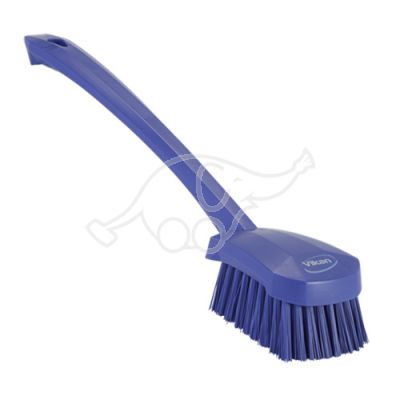Stiff churn brush 410mm purple