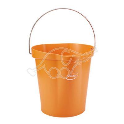 Bucket 12L orange