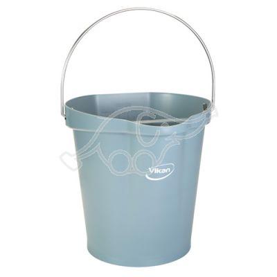 Bucket 12L grey