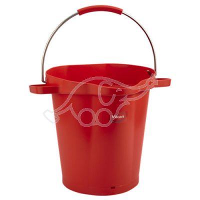 Bucket 20L red