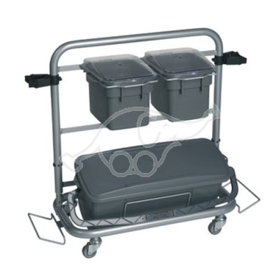 ACT Cleaning Trolley complete