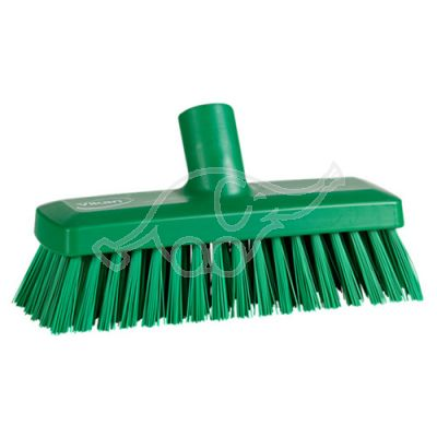 Compact Wall/Deck Scrub 225 mm, Hard,green
