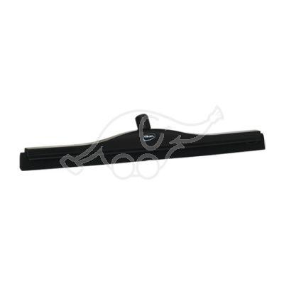 Vikan Transport Floor Squeegee, 600 mm, oil resistant, Black