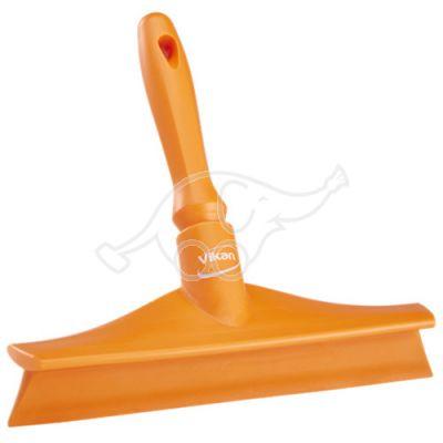 One piece hand squeegee 270mm orange