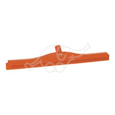 2C Double blade squeegee 600mm orange