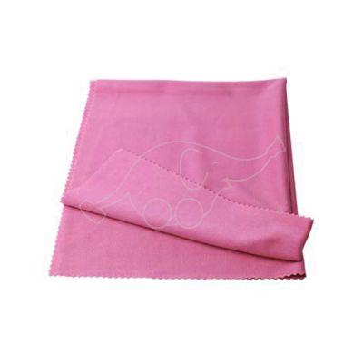 Window cloth Novoclean 40x50cm, pink fucsia