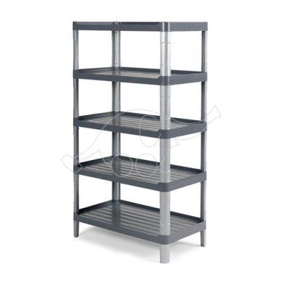 Grey 3805E shelf with 5 shelves