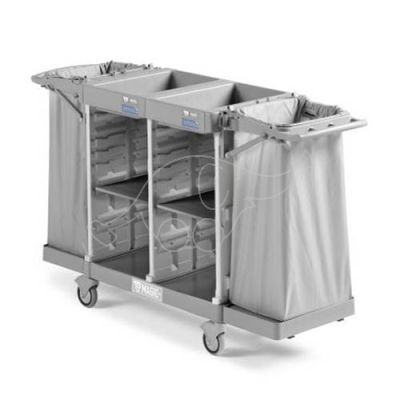 Trolley Magic Hotel 850 Basic with 150mm wheels and brakes