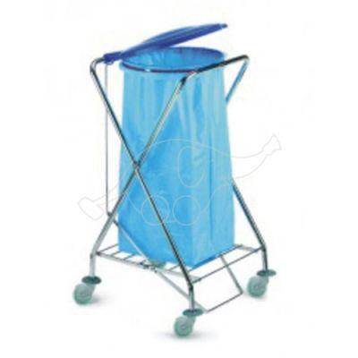 Atkritumu maisa turētājratiņš 120lt
