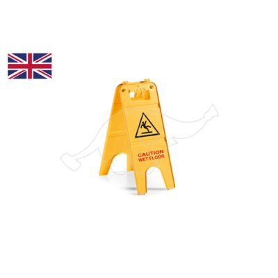 Wet floor signal- English language