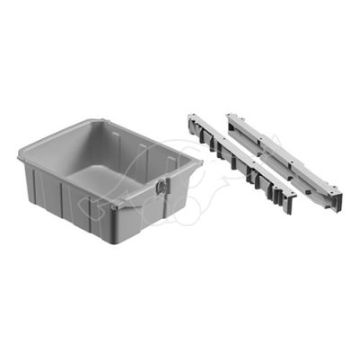 Drawer grey 22l with lock for Green Hotel