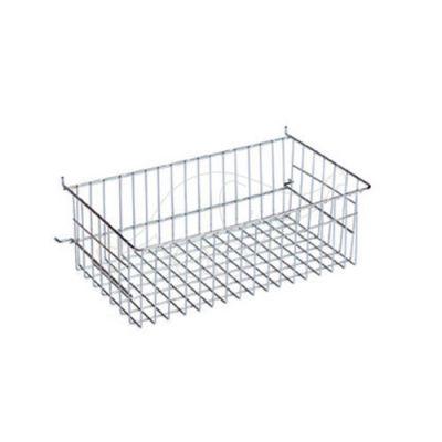 Chromed basket for Dust trolley 41x20x22cm