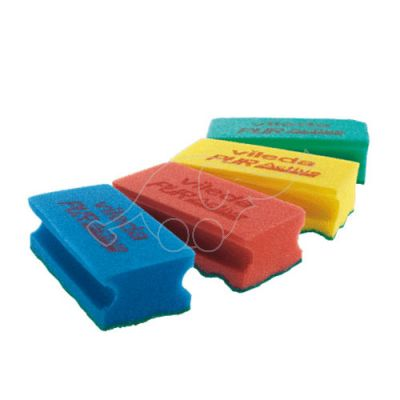 Cleaning pad PUR Active High 6,3x14cm red