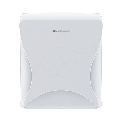 BulkySoft Essentia Maxi Jumbo Toilet Tissue Dispenser, white