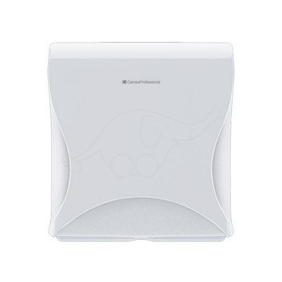 BulkySoft Essentia Double Folded Toilet Tissue Dispenser whi