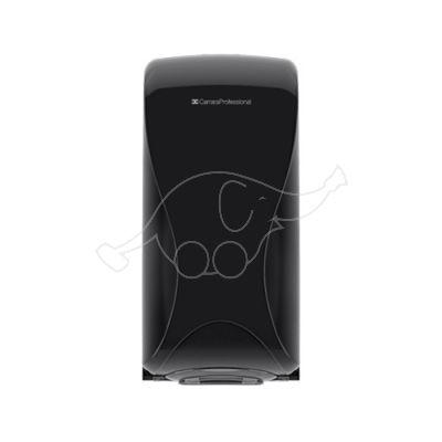 BulkySoft Essentia Folded Toilet Tissue Dispenser,Black