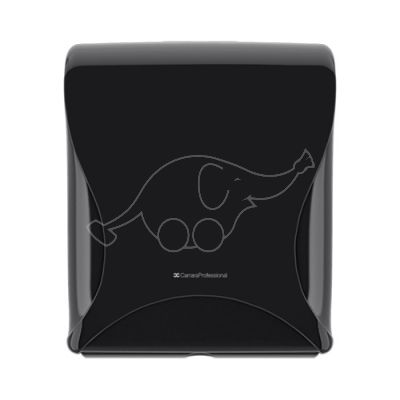 BulkySoft Essentia Multifold Handtowel Disp, black