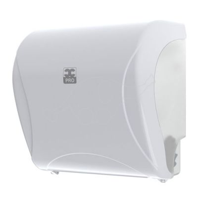 BulkySoft Essentia Autocut dispenser, white