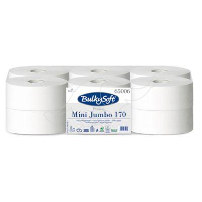 BulkySoft Premium Mini Jumbo 2 slāņu tualetes papīrs 170 m