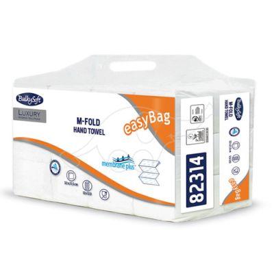 BulkySoft M-fold Membrane Plus white, 3-ply, 120 sheets