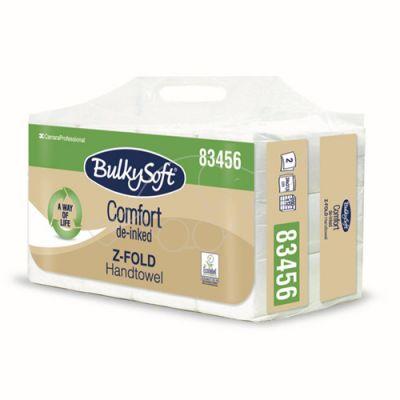 BulkySoft Comfort Z-fold 2xply 200 sheets